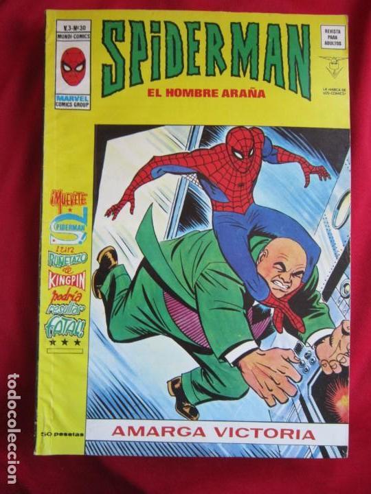 Cómics: SPIDERMAN VOL. 3 COLECCION COMPLETA 76 COMICS VERTICE AÑOS 70 BASTANTE BUENOS - Foto 31 - 156132254