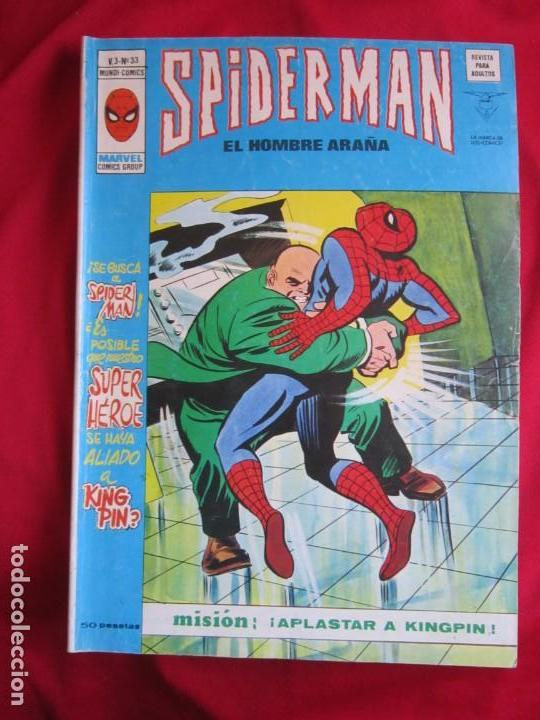 Cómics: SPIDERMAN VOL. 3 COLECCION COMPLETA 76 COMICS VERTICE AÑOS 70 BASTANTE BUENOS - Foto 34 - 156132254