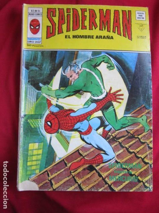 Cómics: SPIDERMAN VOL. 3 COLECCION COMPLETA 76 COMICS VERTICE AÑOS 70 BASTANTE BUENOS - Foto 35 - 156132254