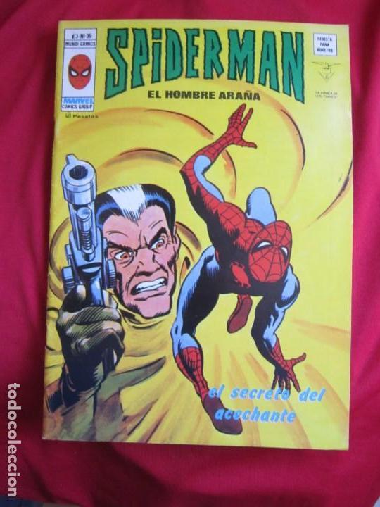 Cómics: SPIDERMAN VOL. 3 COLECCION COMPLETA 76 COMICS VERTICE AÑOS 70 BASTANTE BUENOS - Foto 36 - 156132254