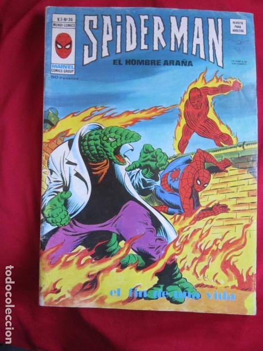 Cómics: SPIDERMAN VOL. 3 COLECCION COMPLETA 76 COMICS VERTICE AÑOS 70 BASTANTE BUENOS - Foto 37 - 156132254