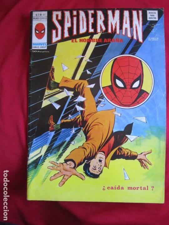 Cómics: SPIDERMAN VOL. 3 COLECCION COMPLETA 76 COMICS VERTICE AÑOS 70 BASTANTE BUENOS - Foto 38 - 156132254