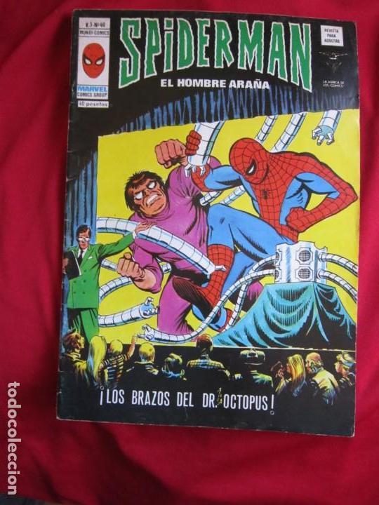 Cómics: SPIDERMAN VOL. 3 COLECCION COMPLETA 76 COMICS VERTICE AÑOS 70 BASTANTE BUENOS - Foto 41 - 156132254