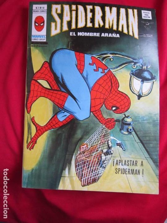 Cómics: SPIDERMAN VOL. 3 COLECCION COMPLETA 76 COMICS VERTICE AÑOS 70 BASTANTE BUENOS - Foto 42 - 156132254