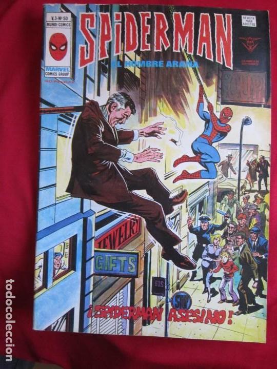 Cómics: SPIDERMAN VOL. 3 COLECCION COMPLETA 76 COMICS VERTICE AÑOS 70 BASTANTE BUENOS - Foto 51 - 156132254