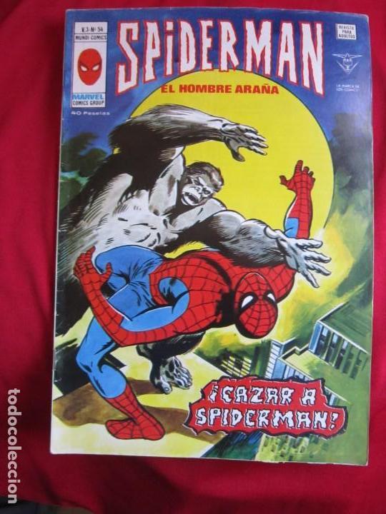 Cómics: SPIDERMAN VOL. 3 COLECCION COMPLETA 76 COMICS VERTICE AÑOS 70 BASTANTE BUENOS - Foto 55 - 156132254