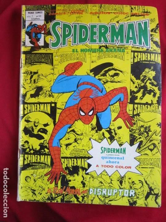 Cómics: SPIDERMAN VOL. 3 COLECCION COMPLETA 76 COMICS VERTICE AÑOS 70 BASTANTE BUENOS - Foto 59 - 156132254