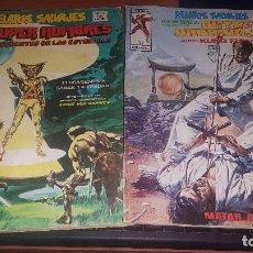 Cómics: RELATOS SALVAJES, V. 1 N° 7 SUPER HOMBRES Y ESPECIAL ARTES MARCIALES N° 5. Lote 156584406