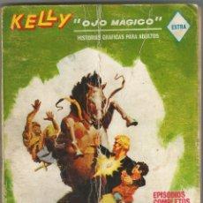 Cómics: KELLY OJO MAGICO Nº 16 EXTRA CONTRA GENGIS KAN FORMATO TACO EDICIONES VERTICE 1974. Lote 156596534