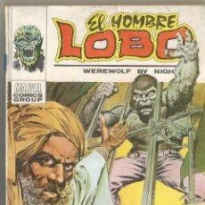Cómics: EL HOMBRE LOBO Nº 4 LA FERIA DEL HORROR EDICIONES VERTICE TACO 1973 MARVEL COMICS GROUP. Lote 156597690