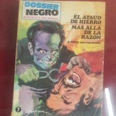 Cómics: DOSSIER NEGRO, TACO VERTICE. Lote 156600565