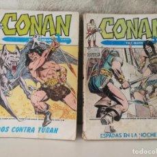 Cómics: DOS TACOS CONAN EL BARBARO. Lote 196727345