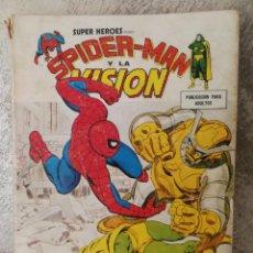 Cómics: TACO VÉRTICE SPIDERMAN Y LA VISION. Lote 156608978