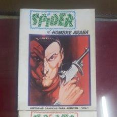 Cómics: SPIDER, VERTICE TACO EXTRA. Lote 156645398