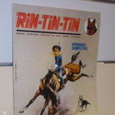 Cómics: RIN-TIN-TIN Nº 12 CONCURSO HIPICO EPISODIOS COMPLETOS - VERTICE -. Lote 156653762