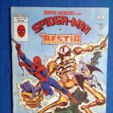 Cómics: SUPER HEROES VOL. 2 # 126 (VERTICE) - SPIDERMAN Y LA BESTIA - 1980. Lote 156778146