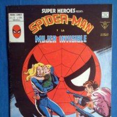 Cómics: SUPER HEROES VOL. 2 # 124 (VERTICE) - SPIDERMAN Y LA MUJER INVISIBLE - 1980. Lote 156778702