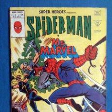 Cómics: SUPER HEROES VOL. 2 # 105 (VERTICE) - SPIDERMAN Y MS. MARVEL - 1979. Lote 156780394