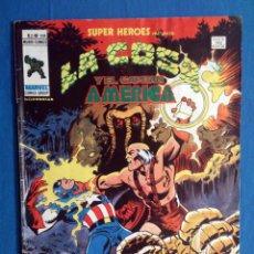 Cómics: SUPER HEROES VOL. 2 # 104 (VERTICE) - LA COSA Y EL CAPITAN AMERICA - 1979. Lote 156780550