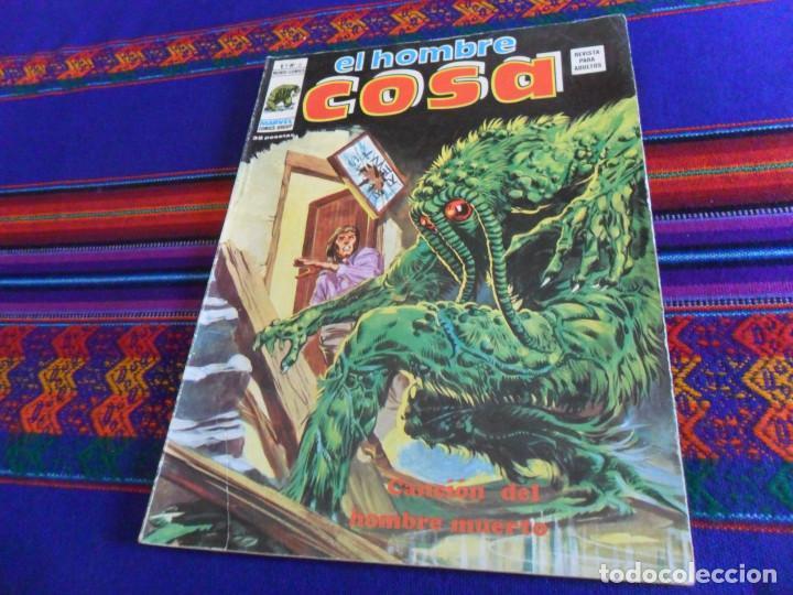 VÉRTICE MUNDI CÓMICS VOL. 1 EL HOMBRE COSA Nº 6. CANCIÓN DEL HOMBRE MUERTO. 1975. 35 PTS BUEN ESTADO (Tebeos y Comics - Vértice - Surco / Mundi-Comic)