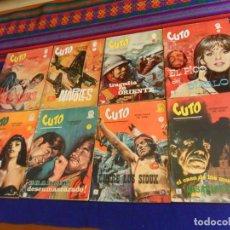 Cómics: VÉRTICE GRAPA BITONO CUTO NºS 1 2 3 4 5 6 7 8 COMPLETA. 10 PTS. 1965.. Lote 156801130