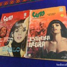 Cómics: VÉRTICE GRAPA CUTO Nº 4, ESTRELLA NEGRA. 10 PTS. 1965. REGALO Nº 5, EL PICO DEL DIABLO.. Lote 20685641