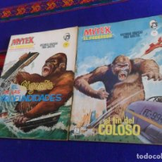 Cómics: VÉRTICE GRAPA BITONO MYTEK NºS 2, 3 Y 16. 1965 10 PTS. BUEN ESTADO Y RAROS.. Lote 44818470