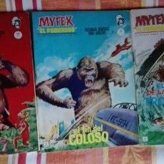 Cómics: MYTEK EL PODEROSO - COMPLETA Nº 1 AL 17 - VERTICE GRAPA.-. Lote 157771066