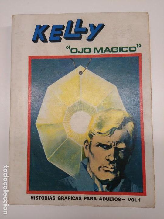 Cómics: Kelly ojo magico 1 vertice tomo gigante buen estado - Foto 2 - 154215142