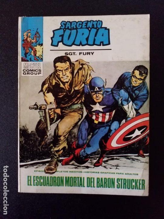 SARGENTO FURIA 7 VOL. 1 VÉRTICE BUEN ESTADO (Tebeos y Comics - Vértice - V.1)