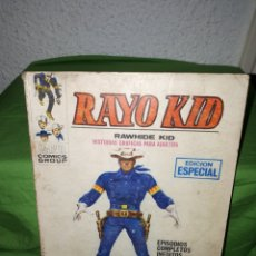 Cómics: MUY DIFICIL RAYO KID 1 AQUI LLEGA RAYO KID INCOMPLETO 90 DE 128 HOJAS. Lote 276268758