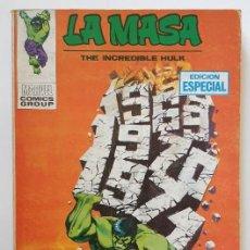 Cómics: LA MASA Nº 16. VOL. 1 VERTICE. Lote 157876582