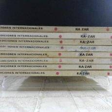 Cómics: KA-ZAR, EDICIONES VERTICE, VOLUMEN 1, COLECCION COMPLETA. Lote 157912270