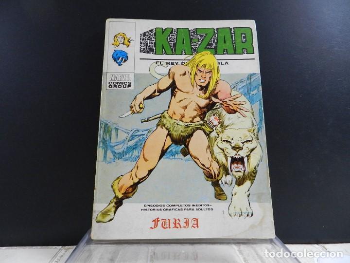 Cómics: KA-ZAR, EDICIONES VERTICE, VOLUMEN 1, COLECCION COMPLETA - Foto 2 - 157912270