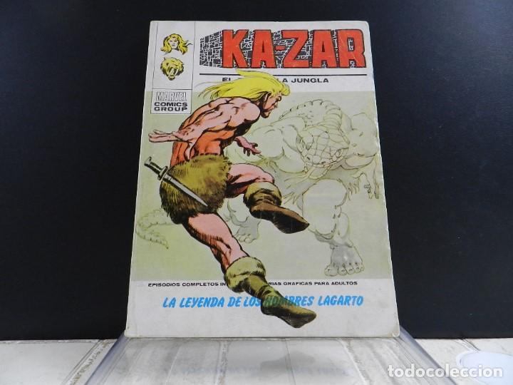 Cómics: KA-ZAR, EDICIONES VERTICE, VOLUMEN 1, COLECCION COMPLETA - Foto 4 - 157912270