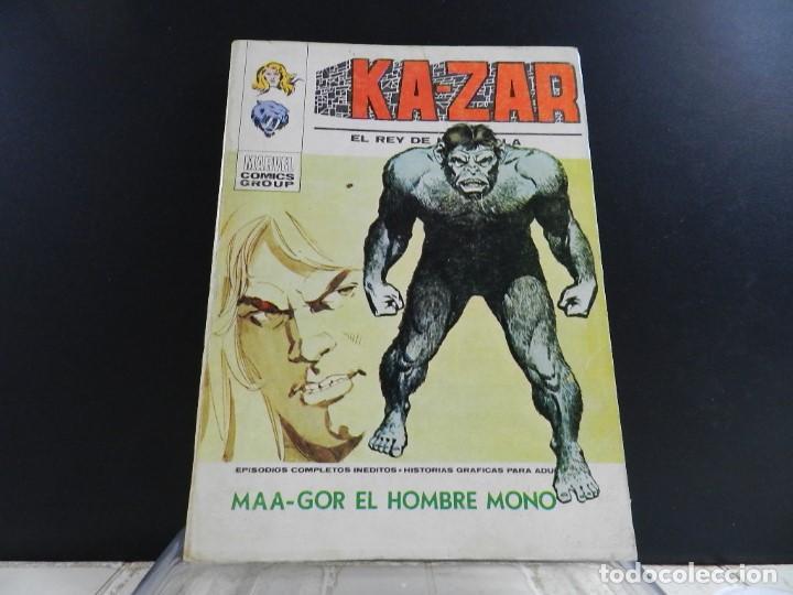 Cómics: KA-ZAR, EDICIONES VERTICE, VOLUMEN 1, COLECCION COMPLETA - Foto 6 - 157912270