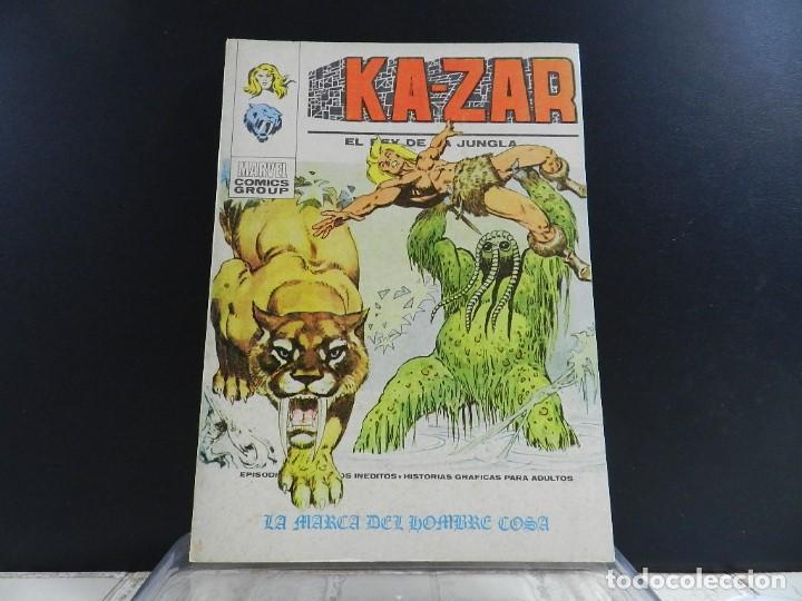 Cómics: KA-ZAR, EDICIONES VERTICE, VOLUMEN 1, COLECCION COMPLETA - Foto 8 - 157912270