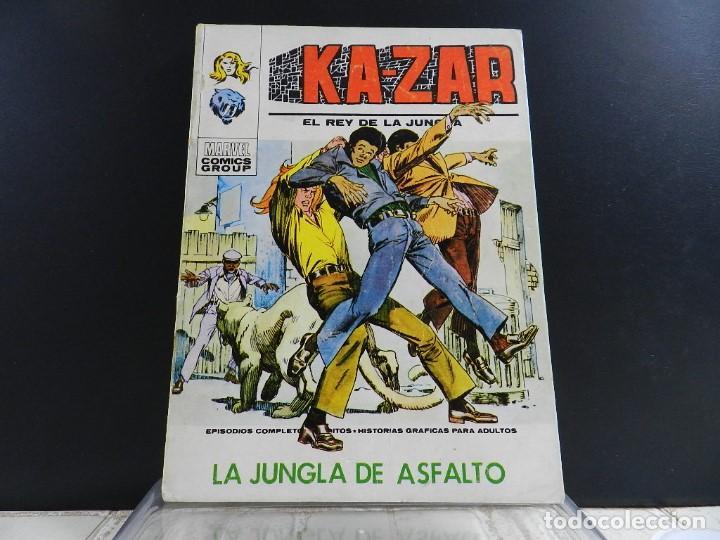 Cómics: KA-ZAR, EDICIONES VERTICE, VOLUMEN 1, COLECCION COMPLETA - Foto 10 - 157912270
