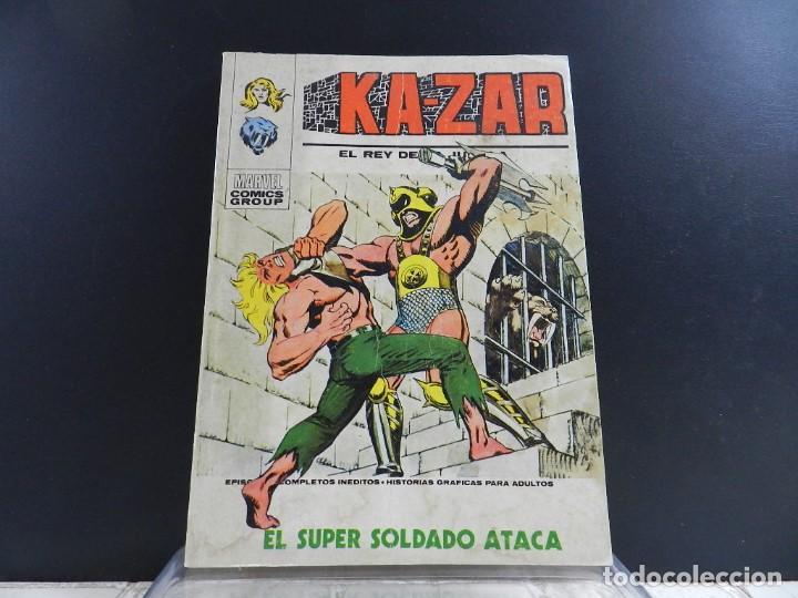 Cómics: KA-ZAR, EDICIONES VERTICE, VOLUMEN 1, COLECCION COMPLETA - Foto 14 - 157912270
