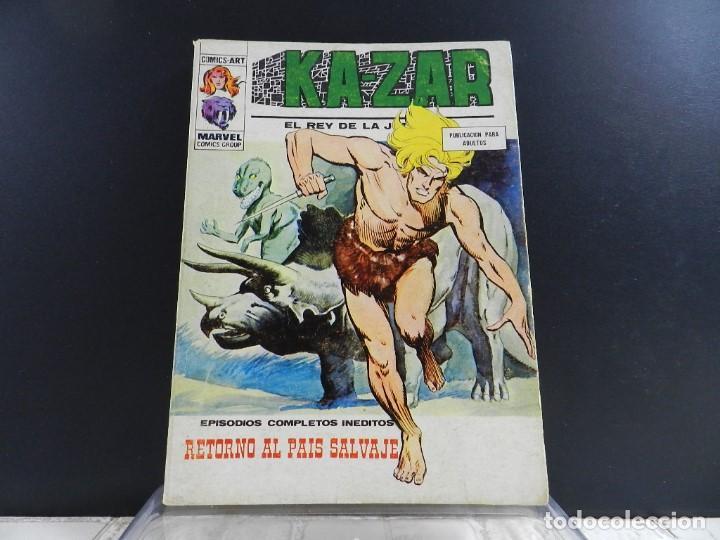 Cómics: KA-ZAR, EDICIONES VERTICE, VOLUMEN 1, COLECCION COMPLETA - Foto 16 - 157912270