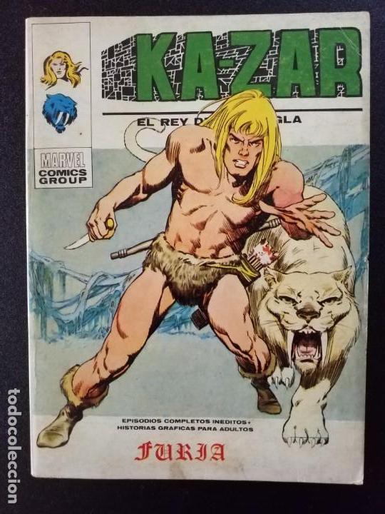 KA-ZAR KAZAR 1 VOL. 1 VÉRTICE BUEN ESTADO (Tebeos y Comics - Vértice - V.1)