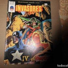 Cómics: SELECCIONES MARVEL LOS INVASORES V 1 Nº 50 MUNDI COMICS VERTICE. Lote 157979058