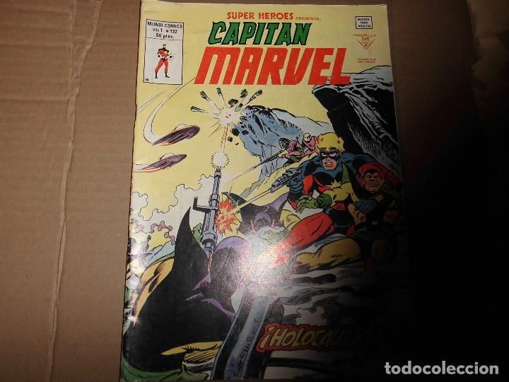 SUPER HEROES CAPITAN MARVEL VOLUMEN 1 Nº 132 MUNDI COMICS VERTICE (Tebeos y Comics - Vértice - Super Héroes)