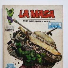 Cómics: LA MASA Nº 1. VOL. 1 VERTICE. Lote 158019538