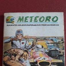 Cómics: COMIC METEORO. RUGIENTES BOLIDOS SUPERAN SUS PROPIAS MARCAS. SABOTAJE EN LA PISTA. VERTICE. Lote 158294030