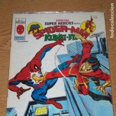 Cómics: VERTICE ESPECIAL SUPER HEROES 13 SPIDERMAN Y KUNG-FU. Lote 158661482