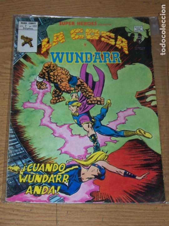 VERTICE SUPER HEROES VOL. V. 2 Nº 122 LA COSA Y WUNDARR (Tebeos y Comics - Vértice - Super Héroes)