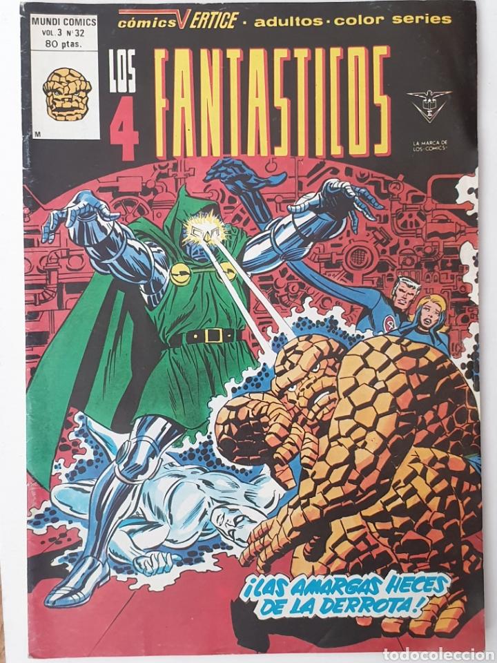 LOS 4 FANTÁSTICOS (Tebeos y Comics - Vértice - 4 Fantásticos)