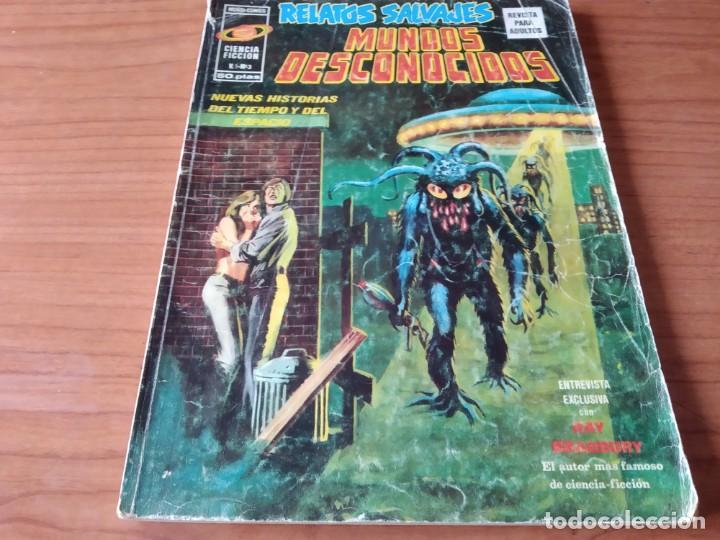 RELATOS SALVAJES. MUNDOS DESCONOCIDOS. CIENCIA FICCION V. 1 NÚMERO 3 (Tebeos y Comics - Vértice - Relatos Salvajes)