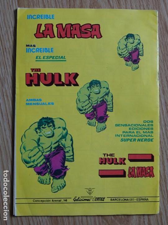 Cómics: EL HOMBRE ENMASCARADO VOL. 2 Nº 12 comics art LA CARRETERA DEL DIABLO The Phantom VERTICE - Foto 2 - 158929578